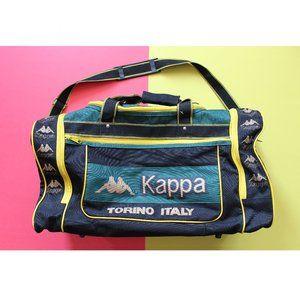 Rare Kappa Torino Italy Duffle Bag Jamaican Colors